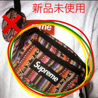ナイキ(NIKE)のSupreme Woven Stripe Waist Bag 2020 バック(ショルダーバッグ)