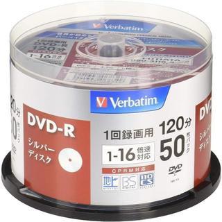 三菱ケミカルメディア Verbatim 1回録画用DVD-R(CPRM) VHR(PHS本体)