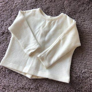 ザラ(ZARA)の子供服2着目半額‼️ZARA Baby バックボタン 長袖 3-6M(シャツ/カットソー)