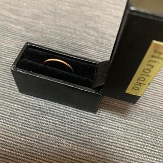 ドゥーズィエムクラス(DEUXIEME CLASSE)のHirotaka シンプルリング 7号 美品 新品同様(リング(指輪))