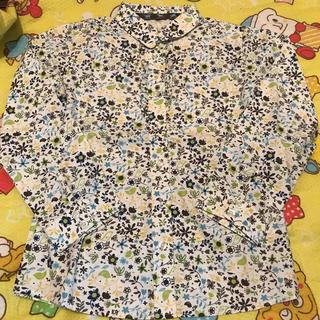 ランズエンド(LANDS'END)のランズエンド 花柄シャツ(Tシャツ/カットソー)