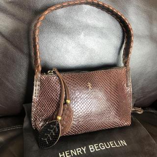 エンリーべグリン(HENRY BEGUELIN)のHENRI BEGUELIN / エンリーベグリン リザード スモールバッグ(ショルダーバッグ)