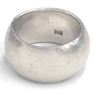 SILVER 925 シンプルなシルバーリング 15号 16.7g (リング(指輪))