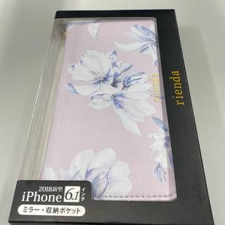 リエンダ(rienda)のrienda リエンダのiPhoneXR手帳ケース(iPhoneケース)