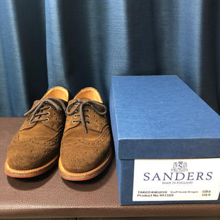 SANDERS - sanders サンダース ブローグ シューズ