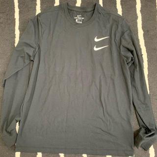 ナイキ(NIKE)のナイキ スポーツウェア スウッシュ ロンT 黒 Lサイズ(Tシャツ(長袖/七分))