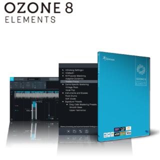 マスタリング Ozone8 Elements VSTプラグイン dtm(ソフトウェアプラグイン)