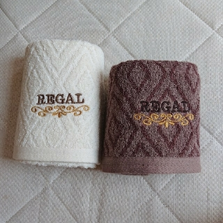 リーガル(REGAL)のリーガル/ダイヤホテルタイプ  フェイス&ハンドタオル(タオル/バス用品)