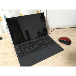マイクロソフト(Microsoft)のsurface pro 4 キーボードセット(ノートPC)