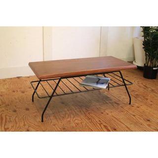 【美品】ACME Furniture ベルズ ファクトリーコーヒーテーブル(ローテーブル)