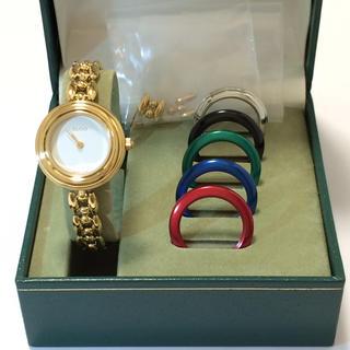 グッチ(Gucci)の8.超美品 グッチ GUCCI 時計 チェンジベゼル(腕時計)