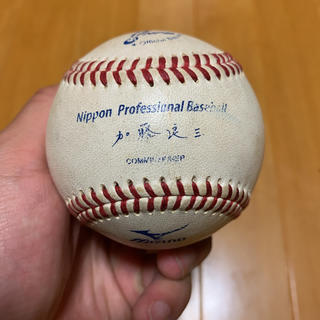 ミズノ(MIZUNO)の【希少】プロ野球 硬式ボール(ボール)