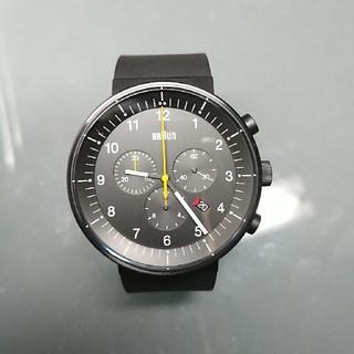 ブラウン(BRAUN)の【値下げしました】 BRAUN クロノグラフ プレステージモデル(腕時計(アナログ))
