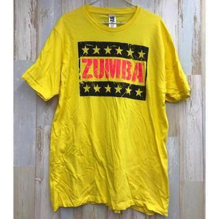 ズンバ(Zumba)のZumba Tシャツ イエロー 正規品(Tシャツ/カットソー(半袖/袖なし))