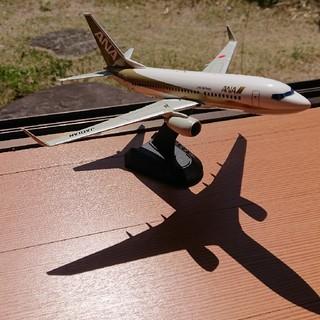 エーエヌエー(ゼンニッポンクウユ)(ANA(全日本空輸))のANA 全日空 B737-700 GOLD JET スーパーサウンド イワヤ製 (航空機)