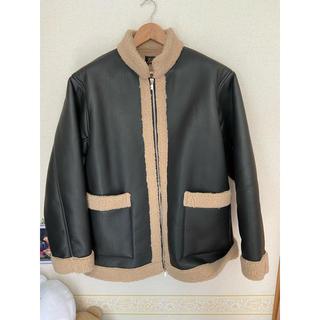 Needles - 19aw zipped tibetan jacket