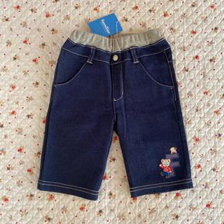 ファミリア(familiar)の紅様専用です 新品 familiar パンツ(6分丈)90(パンツ/スパッツ)