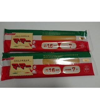ニッシンセイフン(日清製粉)のパスタ麺  マ・マー  1.6㎜  600g(麺類)