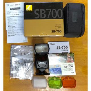 ニコン(Nikon)のNikon sb-700 外付け純正スピードライト、ストロボ(ストロボ/照明)