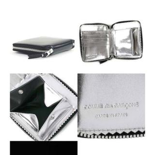 COMME des GARCONS - コムデギャルソン 財布 ブラック✖️シルバー 定価30000円