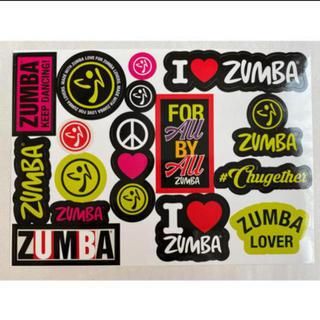 ズンバ(Zumba)の新品 ZUMBA ステッカー シール アクセサリー ズンバ(ダンス/バレエ)