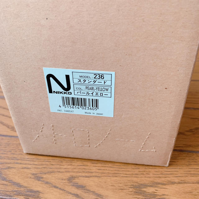 NIKKO(ニッコー)のNIKKO 日工 メトロノーム スタンダード アイボリー パールイエロー 236 楽器の楽器 その他(その他)の商品写真