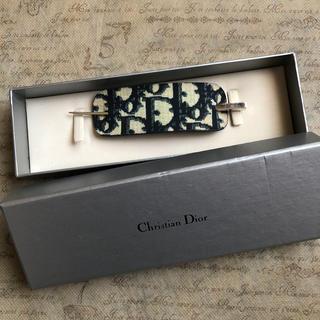クリスチャンディオール(Christian Dior)のディオール  トロッター  ヘアアクセサリー(バレッタ/ヘアクリップ)