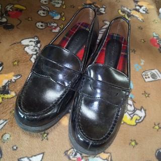 シマムラ(しまむら)のローファー 黒(ローファー/革靴)