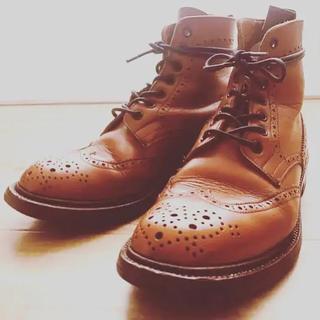 トリッカーズ(Trickers)のTricker's トリッカーズ UK5.5 ウイングチップ ブーツ(ローファー/革靴)