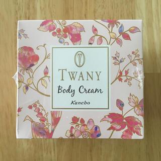 トワニー(TWANY)のKanebo TWANY トワニーボディクリーム(フラワーガーデン)(ボディクリーム)
