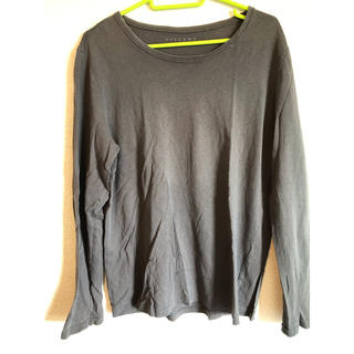 シマムラ(しまむら)のしまむら 黒のロングTシャツ(Tシャツ/カットソー(七分/長袖))