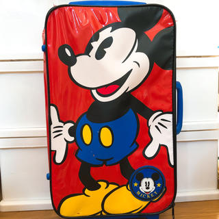 ディズニー(Disney)のミッキー キャリーケース(スーツケース/キャリーバッグ)