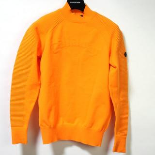 キャロウェイ(Callaway)のキャロウェイ ハイネック ロゴ ニット ダイナホット オレンジ M セーター(ニット/セーター)