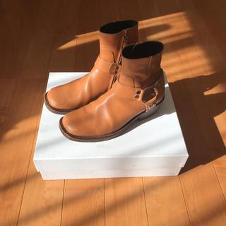 Balenciaga - balenciaga distressed boots 39