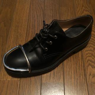 アレキサンダーワン(Alexander Wang)のalexander wang 本革靴サイズ38(ソールvibram)(ローファー/革靴)