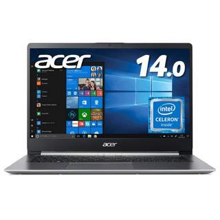 エイサー(Acer)のAcer ノートパソコン SF114-32-N14u/S 14インチ IPS(ノートPC)