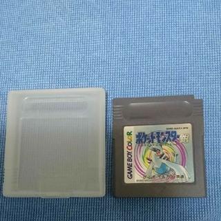 ニンテンドウ(任天堂)のゲームボーイソフト ポケットモンスター 銀(携帯用ゲームソフト)