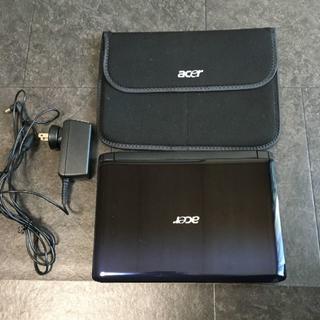 エイサー(Acer)の【美品】acer ミニノートPC ASPIRE ONE 532h-CPK11(ノートPC)