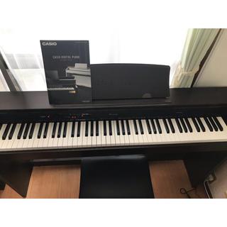 カシオ(CASIO)のカシオ 電子ピアノ Privia PX-760 ブラウン(電子ピアノ)