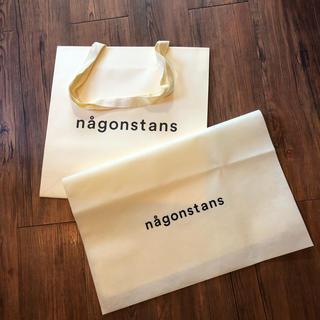 エンフォルド(ENFOLD)のnagonstans ナゴンスタンス ショッパー  袋 バック(ショップ袋)