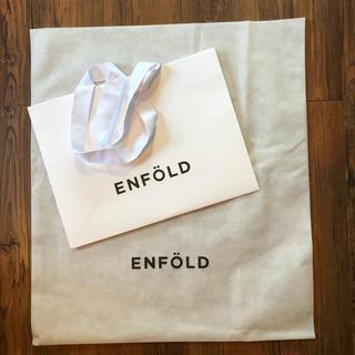 エンフォルド(ENFOLD)のENFOLD エンフォルド ショッパー 袋 バック 紙袋(ショップ袋)