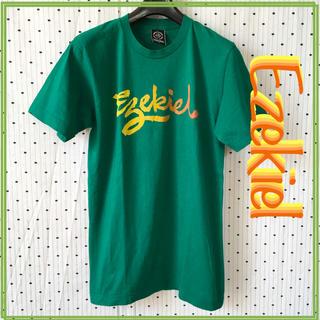 イズキール(EZEKIEL)のEzekielイズキールUS限定非売品レトログラデーションロゴTシャツ(サーフィン)