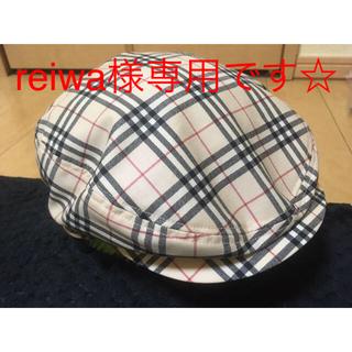 バーバリー(BURBERRY)のreiwa様専用  バーバリー ハンチング帽(ハンチング/ベレー帽)