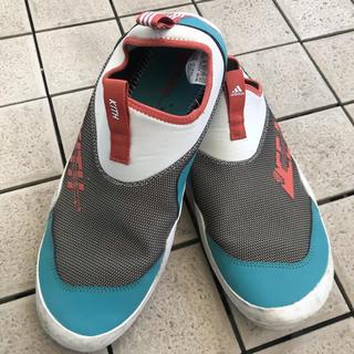 アディダス(adidas)のKITH x アディダス EEA Slip-On 防水シューズ 超貴重限定コラボ(スリッポン/モカシン)
