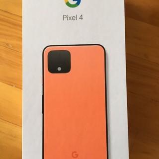 アンドロイド(ANDROID)のでこでこでここさん 専用 希少色 SIMフリーpixel4 64GB オレンジ色(スマートフォン本体)