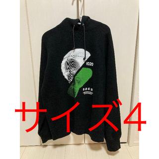 サカイ(sacai)の貴重 サイズ4 sacai x undercover コラボ パーカー(パーカー)