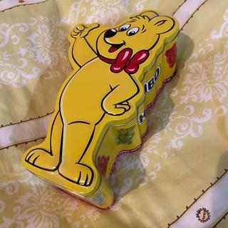 カルディ(KALDI)のHARIBO ハリボー ゴールドベア缶 (キャラクターグッズ)