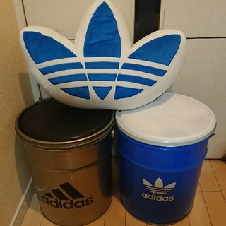 アディダス(adidas)の激レア 非売品 アディダス オリジナルス ドラム缶 ノベルティ(ノベルティグッズ)