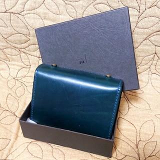 エムピウ(m+)のエムピウの定番人気モデルの二つ折り財布です✨箱付きのほぼ未使用の極美品です✨(財布)