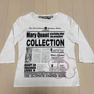 マリークワント(MARY QUANT)のマリークワント  ロンT トップス  七分袖(カットソー(長袖/七分))